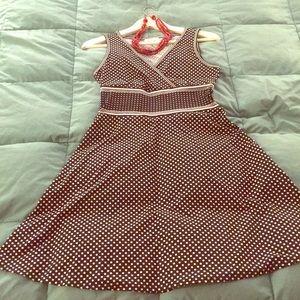 Max Studio Polka Dot Dress
